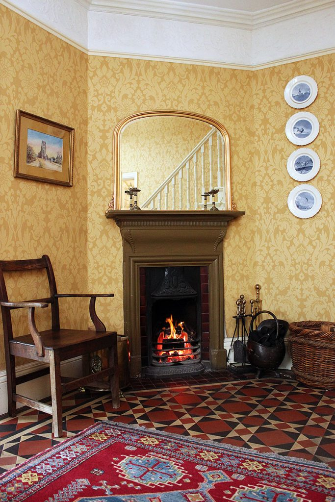Entrance Hall Fireplace